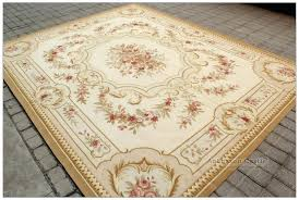 french country area rugs light blue cream rug shabby with designs 4