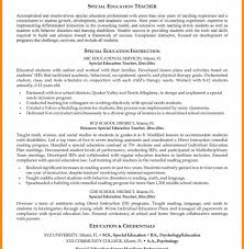 Download Sample Special Education Teacher Resume Diplomatic Regatta