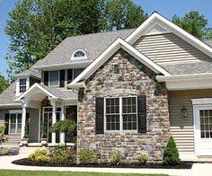 pictures of stone exterior on homes. here is the rock with siding. this also pretty. pictures of stone exterior on homes t