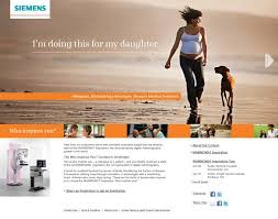 siemens showcases cramer our customer inspired campaign combined email dimensional mailers facebook a microsite and