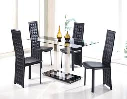 round glass dining table and chairs table decorative modern glass dining set mesmerizing small and chairs