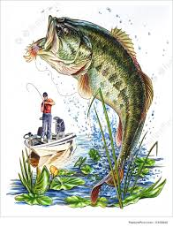 largemouth bass jumping.  Largemouth Caught  Oil Painting Intended Largemouth Bass Jumping J