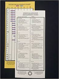 Speech And Language Development Chart Speech Development Chart Sound Chart Angela Holzer