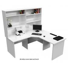 corner office desk hutch. Origo Corner Office Desk Workstation With Hutch - White T
