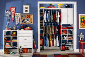 Kids Closet Organizer for Interior Minimalist Rooms Architecture