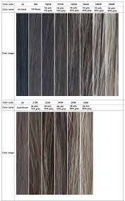 Gray Hair Color Chart Image Result For Gray Hair Color Chart Grey Hair Colour