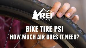 Bike Tire Psi How Much Air Should You Put In Your Bike Tire Rei
