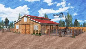 Horse Barn Designs Photos Building A Horse Property From The Ground Up The Horse
