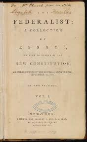 federalists papers essaya the federalist critical essays enotes com