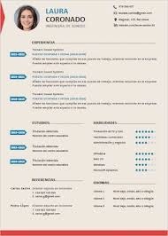 Formatos De Curriculum Vitae En Word Gratis Plantillas De Curriculum Vitae Gratis Para Descargar En Word