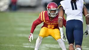 Kenneth Lynn Football Iowa State University Athletics