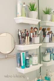 bathroom organization ideas makeup