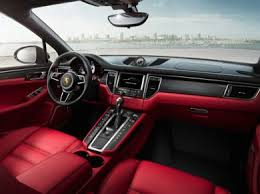 2018 porsche macan red.  red oem interior primary 2018 porsche macan in porsche macan red