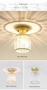 M And S Lighting Ceiling 2019 Modern Led Crystal Ceiling Lamps For Lobby Hallway Balcony Porch Lampara Techo Lights Lighting Holiday Lighting Jk0375 From Hengli_lights