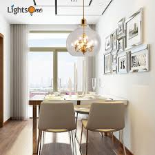 Dining room pendant light Rustic Nordic Round Living Room Pendant Lamp Creative Personality Postmodern Dining Room Simple Glass Restaurant Small Pendant Lights Aliexpress Nordic Round Living Room Pendant Lamp Creative Personality Post