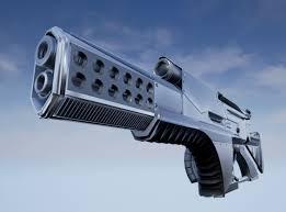 Futuristic Concepts Futuristic Weapon Concept Low Poly 3d Model Sharecg