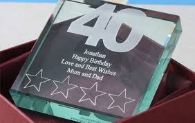 celebrate with a touch of gl a super 40th birthday gift40th
