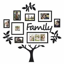 multiple picture frames family. Family Tree Frame Collage Pictures Frames Multi-Photo Mount Wall Decor Wedding Multiple Picture N