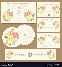 Spring Photo Cards Spring Wedding Invitation Cards Set