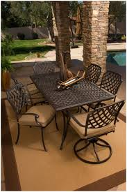 Backyards Charming Atlas Padded Sling 7 Pc Aluminum Dining Set