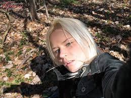 British Blonde Teen Outdoor