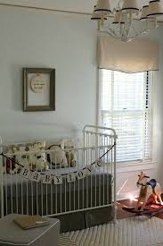 blinds for baby room. Fine Blinds Control Light In Baby Nursery With Mini Blind Topped Fabric Valance In Blinds For Baby Room B