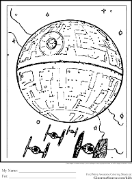 Small Picture Death Star Coloring Page zimeonme