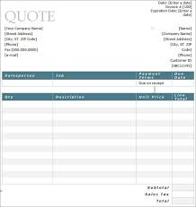 price estimate template free estimate template 11 job estimate templates and work quotes