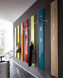 Designer Coat Racks Wall Mounted Germania Modern Colorado Coat Rack High Gloss Or Wood Veneer Finish 34