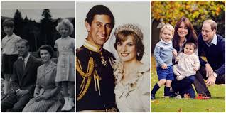 Family Christmas Picture Royal Family Christmas Cards Through The Years British Royals