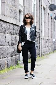 18 edgy ways to style leather jacket