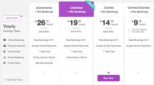 Wix Prices Premium Plans Which One Should I Choose