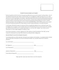 Letter Of Consent For Travel Of A Minor Child Beautiful Parental