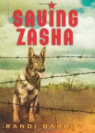 rebecca caudill award nominee saving zasha by randi barrow