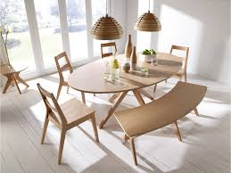 scandinavian furniture style. Malmo Dining Table Set Chairs Bench Oak Veneer \u0026 Solid Wood - Scandinavian Style Furniture I