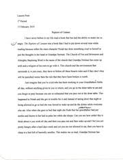 camping trip essay camping trip the first time i had gone to a  3 pages rapture of canaan essay