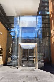 point supported glass vestibule wistar institute philadelphia pa