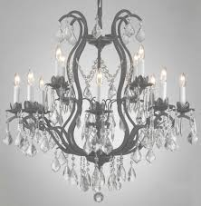49 best chandeliers images on chandeliers crystal in large wrought iron and