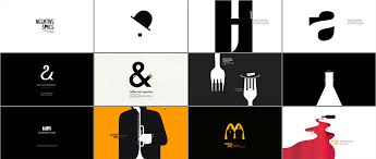 What Is Negative Space In Graphic Design Negative Space In Creating Of Posters And Logotypes On Behance