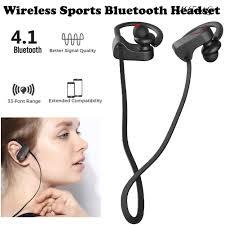 Tai Nghe Bluetooth Thể Thao Jla9 Chống Nước Âm Thanh Siêu Trầm - Tai nghe  Bluetooth chụp tai Over-ear