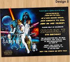 Star Wars Birthday Invitations Printable 20 Star Wars Birthday Invitation Template Word Psd Publisher