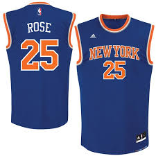 Rose Really Quickly Jersey Royal Derrick New Adidas York Knicks - Replica