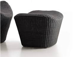polyethylene furniture. polyethylene garden footstool papilio outdoor furniture