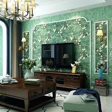 green living room wallpaper past wallpaper bedroom retro nostalgic country style dark green living room ab