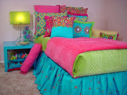 girl bedding turquoise lime green and hot pink girls bedding girl bedding sets purple