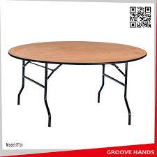 foldable round wedding hotel restaurant banquet table