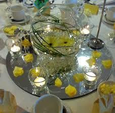 elegant glass bowl wedding centerpieces 1000 ideas about fish bowl centerpieces on bowl