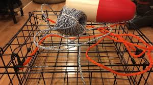 how to set up a crab pot