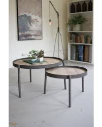 stacking coffee tables. Plain Tables SET OF ROUND IRON NESTING COFFEE TABLES WITH WOODEN TOPS Small Stacking  Tables Wayfair Nesting With Stacking Coffee Tables T