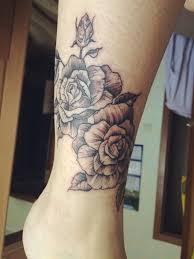 татуировка на голени у девушки розы Card From User Dobrodeeva